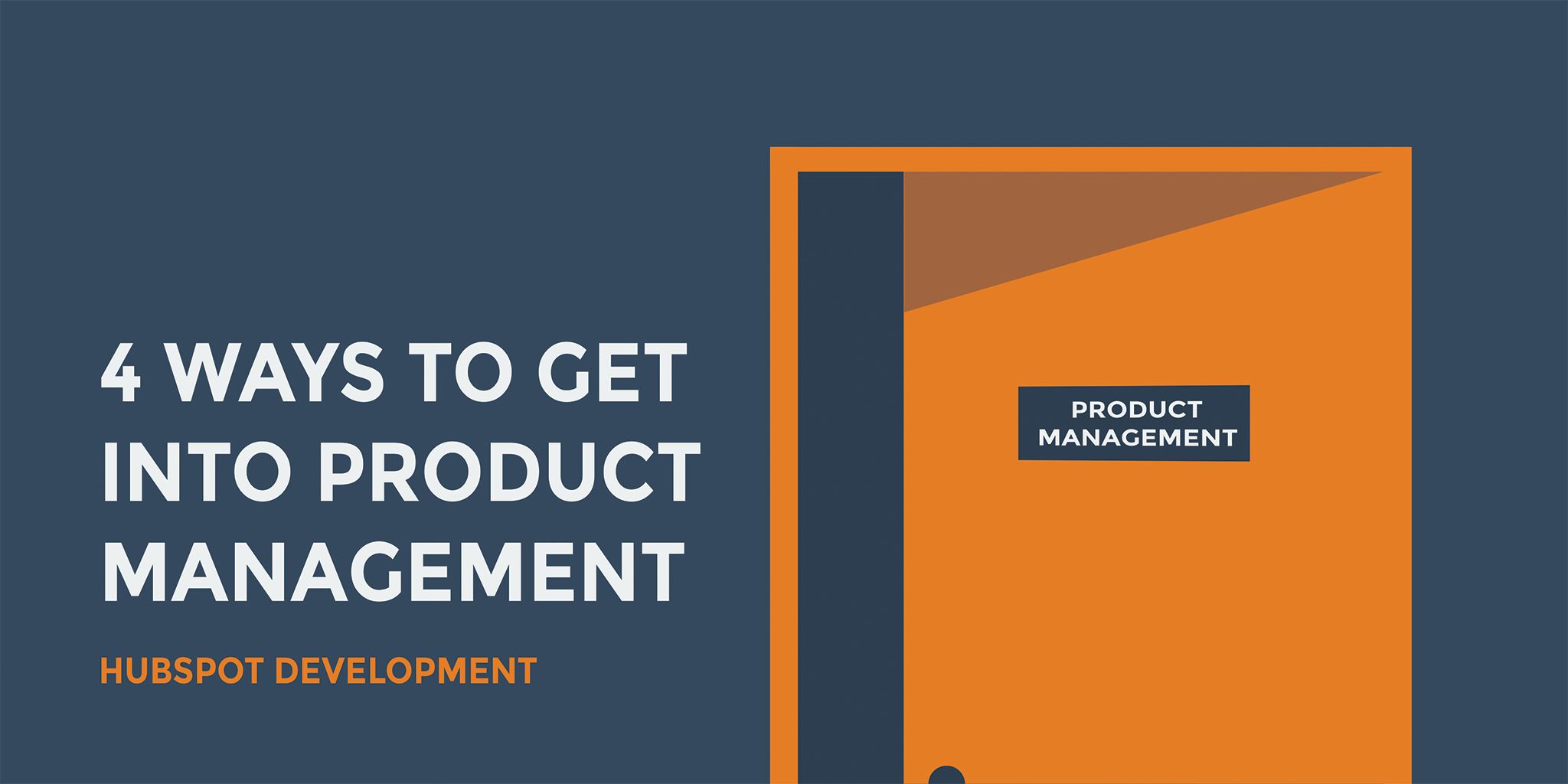 4 ways to get into product management